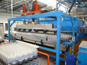 Cuisson de bouteilles après traitement de surface