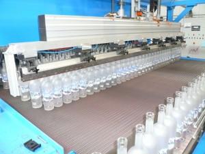 Cuisson de bouteilles après traitement de surface 4