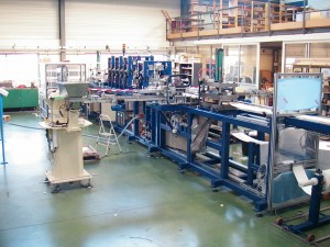 Ligne de production automatisée de masques respiratoires