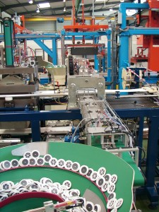 Ligne de production automatisee pour le medical