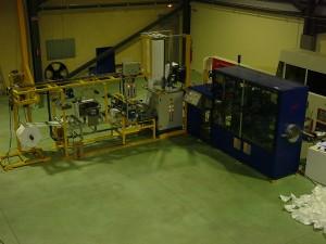 Fabrication automatique de sur-chaussures - Médical & Nucléaire
