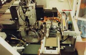 Contrôle automatique par vision industrielle de composants microélectroniques