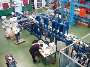 Chaîne de fabrication automatique pour le médical