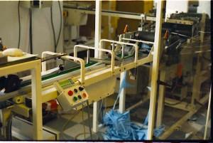 Production de produits d'hygiène automatique