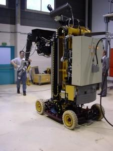 Robot démantèlement nucléaire
