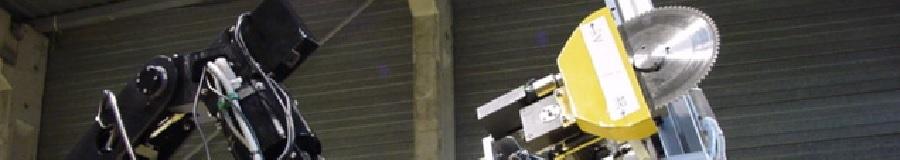 Robot de démantèlement téléopéré - bandeau