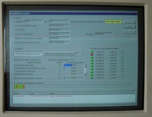 écran rugosimètre automatique industriel