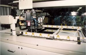 Table de découpe par ultrason automatisée