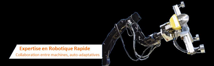 Robot scie conçu par HighTaiX